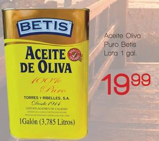 Aceite Oliva Puro Betis