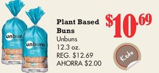 Plant Based Buns