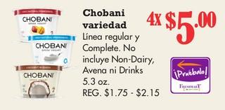 Chobani Variedad