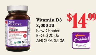 Vitamin D3 2,000 IU
