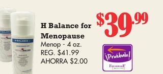 H Balance for Menopause