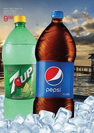 Pepsi Cola o Seven Up Regular
