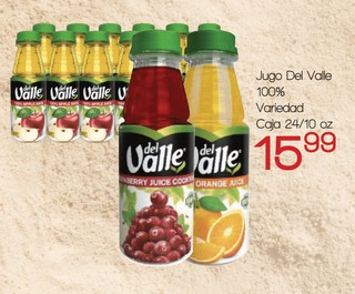 Jugo Del Valle 100%
