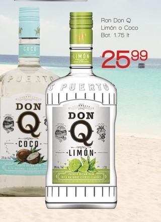 Ron Don Q Limón o Coco