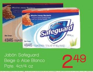 Jabón Safe guard