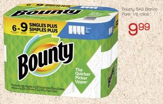 Papel Sanitario Bounty SAS Blanco