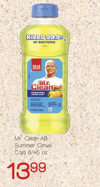 Mr. Clean AB Summer Citrus