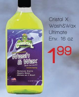 Cristal X Wash & Wax