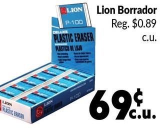 Lion Borrador