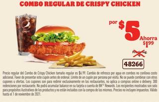 Combo Regular Crispy Chicken