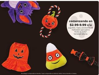 Juguetes, ropa y Accesorios de Halloween para perro Thrills & Chills