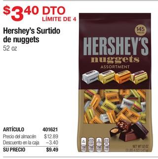 Hershey's Surtido de Nuggets