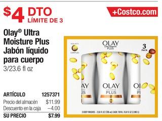 Olay Ultra Moisture Plus Jabón Líquido para cuerpo