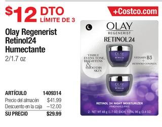 Olay Regenerist Retinol24 Humectante