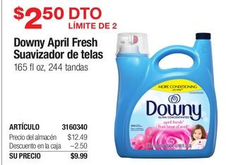 Downy April Fresh Suavizador de telas