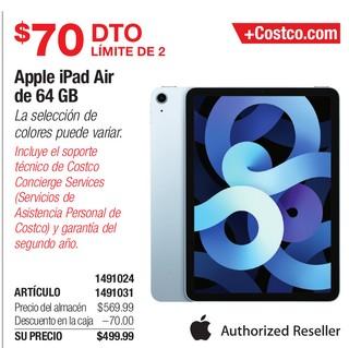 Apple ipad Air de 64 GB