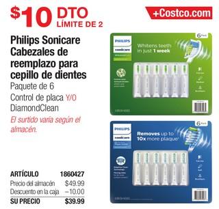 Philips Sonicare Cabezales de reemplazo para Cepillo