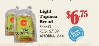 Light Tapioca Bread