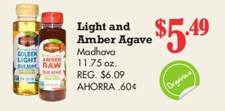Light And Amber Agave