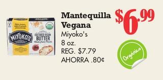 Mantequilla Vegana Miyoko's 8 oz