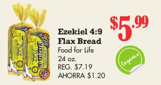 Ezekiel 4:9 Flax Bread food for life