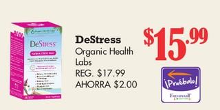 DeStress Organic Health Labs