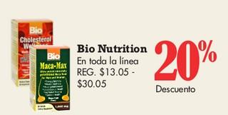 Bio Nutrition En toda la linea