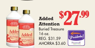 Added Attention Buried Treasure 16 oz