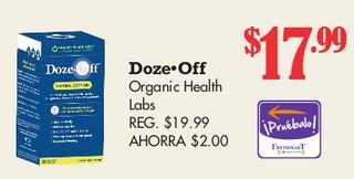 Doze Off Organic Health Labs