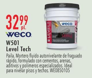 Weco W501 Level Tech