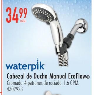 Waterpik Cabezal de Ducha Manual EcoFlow