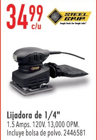Lijadora de 1/4'' 1.5 Amps