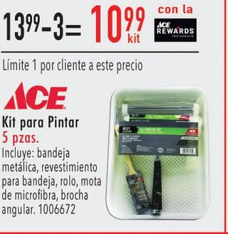 Kit para Pintar Paquete de 5 Piezas ACE