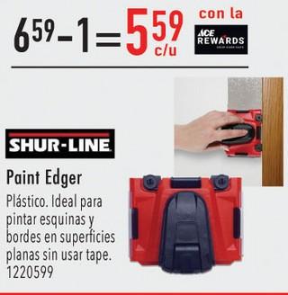 Paint Edger Plástico