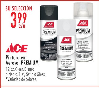Pïntura en Aerosol Premium