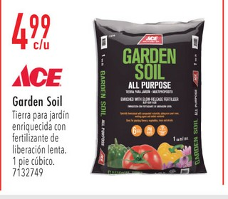 Garden Soil Tierra para Jardin