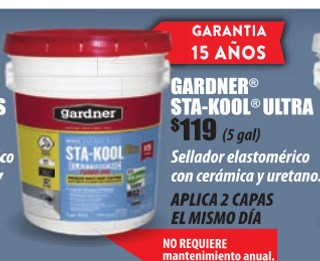 Gardner Sta-Kool Ultra