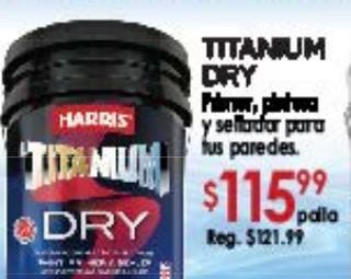 Titanium Dry Primer, Pintura y Sellador para Tus paredes