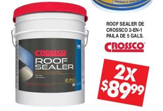 Roof Sealer de Crossco