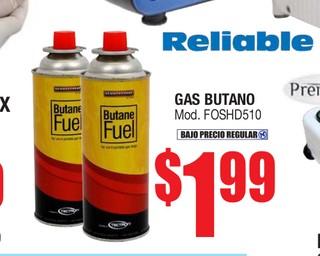 Reliable Gas Butano