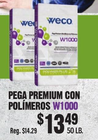 Pega Premium con Polímeros  W1000