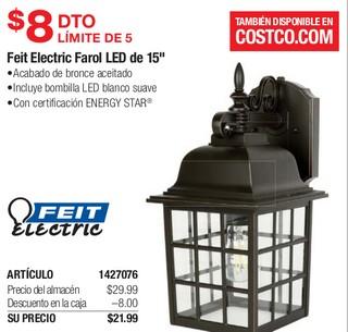 "Feit Electric Farol LED de 15"""