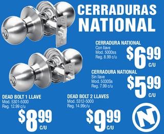 Cerraduras National