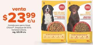 Comida para Perro Great Choice