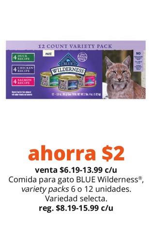 Comida para Gato Blue Wilderness Variety Packs