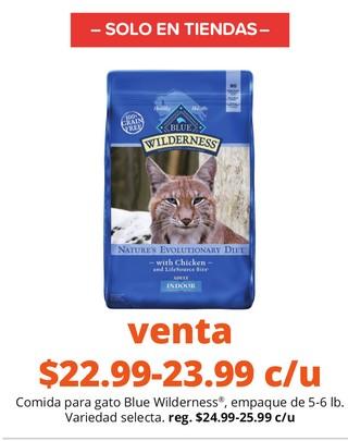 Comida para Gato Blue Wilderness