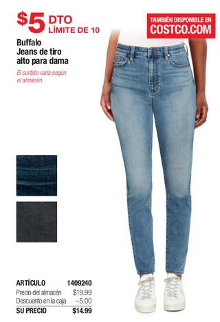 Buffalo Jeans de Tiro Alto para Dama