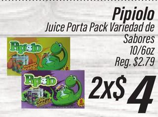 Pipiolo Juice Porta Pack
