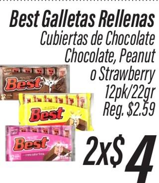 Best Galletas Rellenas