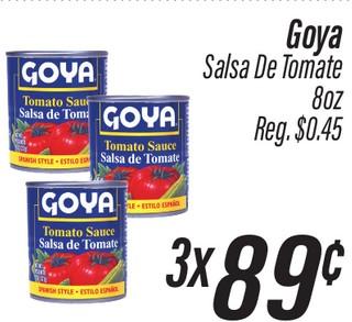 Goya Salsa de Tomate